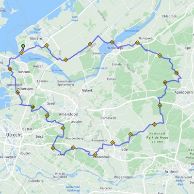 Veluwe route